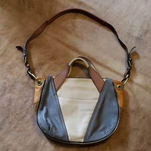 OrYany patchwork softleather purse